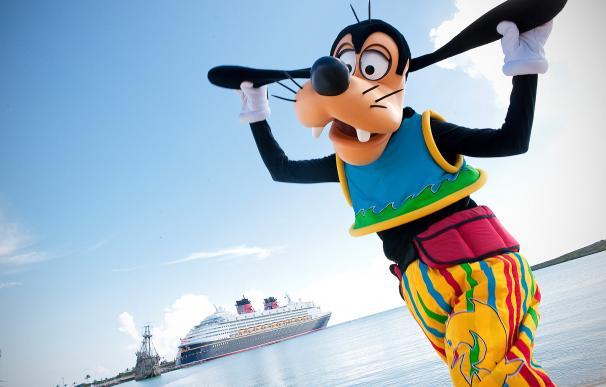 Fotografía de uno de los cruceros de Disney Cruise Line.
