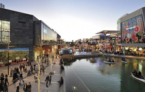 Centro comercial Puerto Venecia en Zaragoza