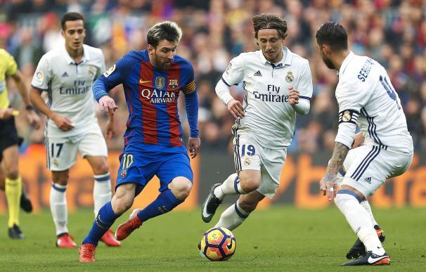 Imagen del clásico entre el FC Barcelona y el Real Madrid / EFE