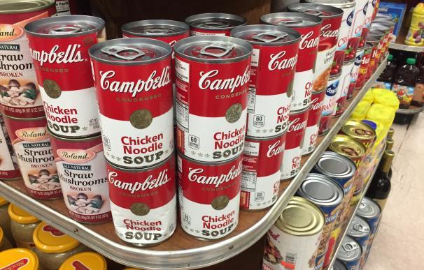 Las famosas latas de la sopa Campbell´s / Tjeerd Wiersma