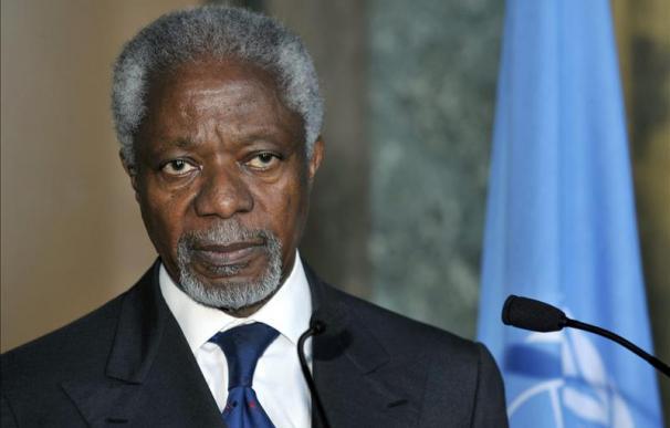Rusia satisfecha con la misión de Kofi Annan en el conflicto sirio