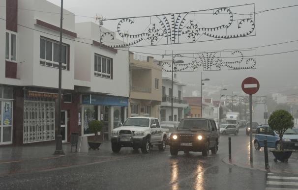 Temporal de lluvia