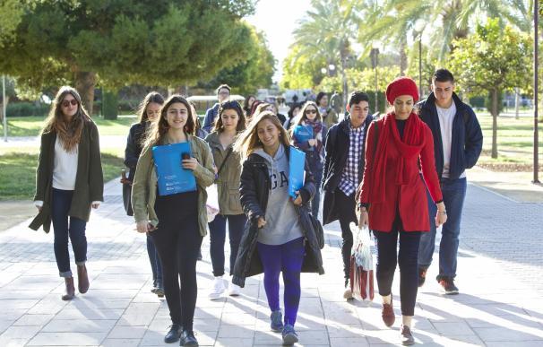 Alumnado internacional en la UA