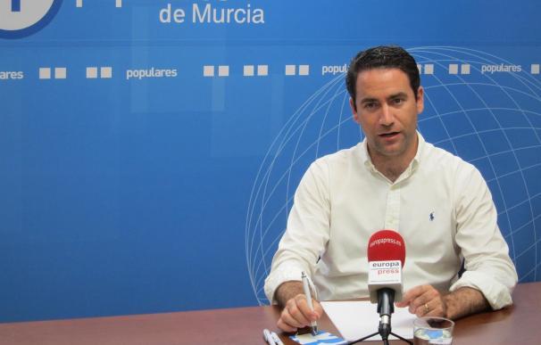 El secretario general del PP, Teodoro García