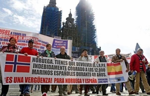 Fotografía marineros españoles reclaman pensión a Noruega