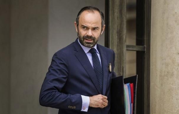 Imagen del primer ministro de Francia, Edouard Philippe.