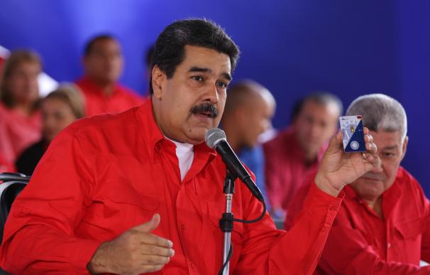 Maduro, durante el anuncio del nuevo plan de ahorro.