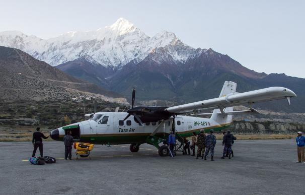 La aerolínea napalesa Tara Air está considerada como la menos segura. / Solundir