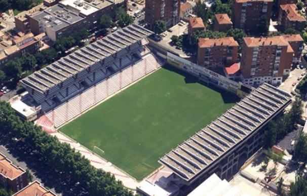 Estadio de Vallecas, cerrado hasta el mes de octubre. / Rayo Vallecano