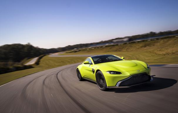 Fotografía del Aston Martin Vantage