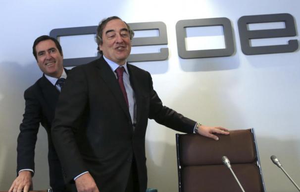 Juan Rosell y Antonio Garamendi.