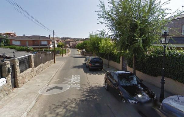 Urbanización 'El Coto' de la localidad de El Casar en la que habrían tenido lugar los hechos (Imagen: Google)