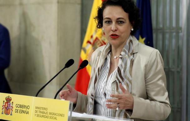 Fotografía Magdalena Valerio, ministra de Trabajo, Migraciones y Seguridad Social