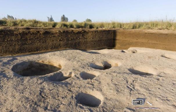 Imagen de las excavaciones en el Delta del Nilo