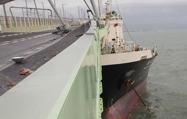 El tifón Jebi se cobra la vida de al menos siete personas