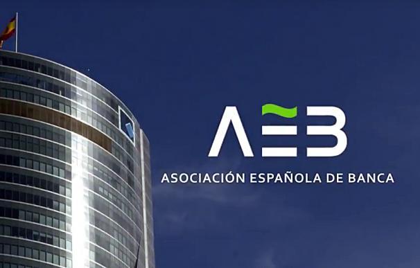 Logotipo de la patronal bancaria, AEB