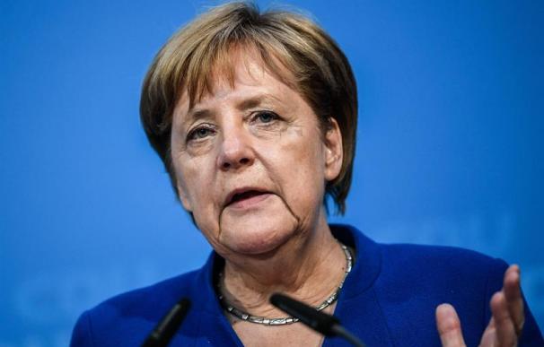 Fotografía de Ángela Merkel, canciller de Alemania
