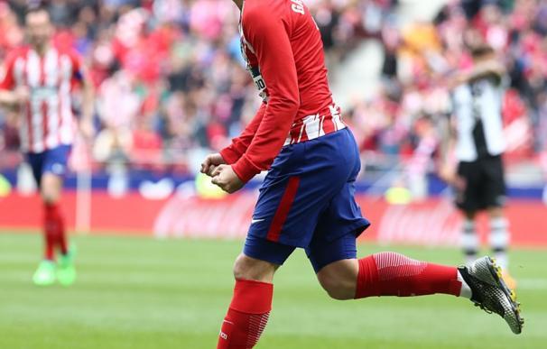 Griezmann tras meter su primer gol