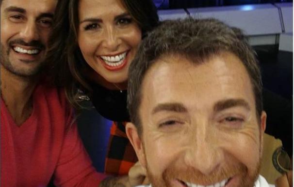 Pablo Motos, Nuria Roca y Melendi