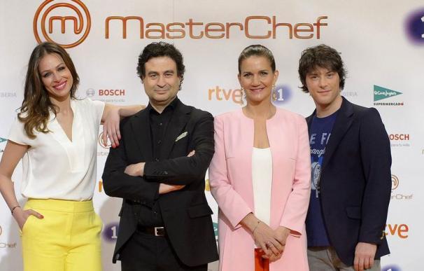 Fotografía Masterchef presentadores / EFE