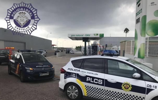 Imagen de la estación de servicio donde se ha producido la explosión. EFE/Ayuntamiento Castellón