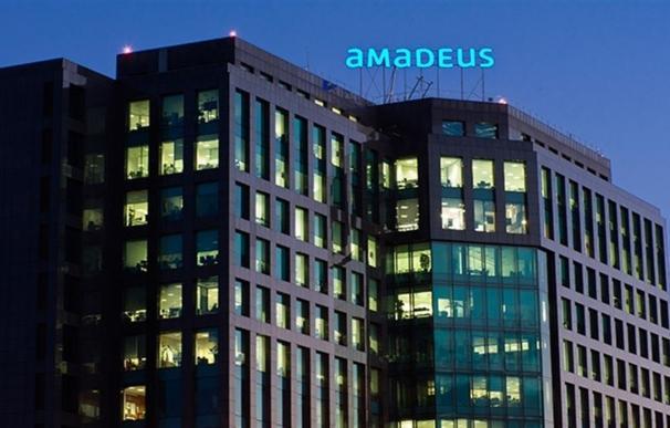 Fotografía sede Amadeus en Madrid