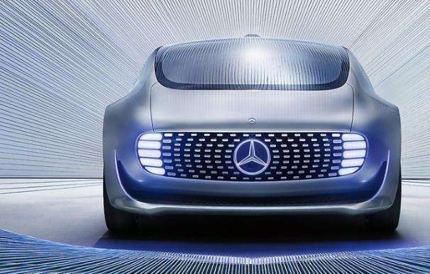 El coche autónomo de Mercedes.