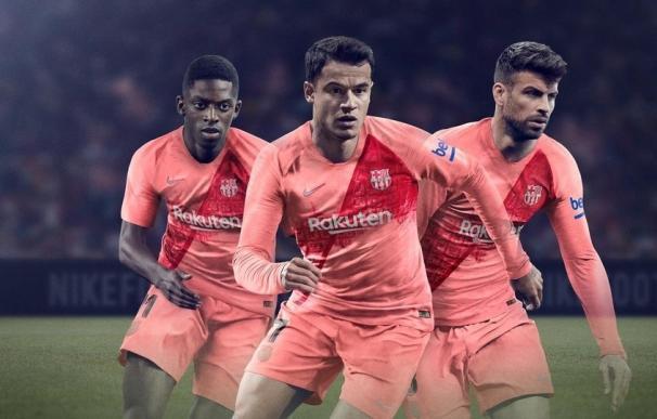 Tercera equipación del Barça para este año.