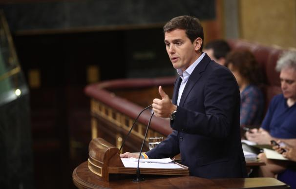 Albert Rivera interviene en el Congreso