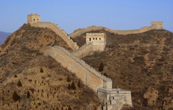 Imagen de la Gran Muralla China en Pekín.