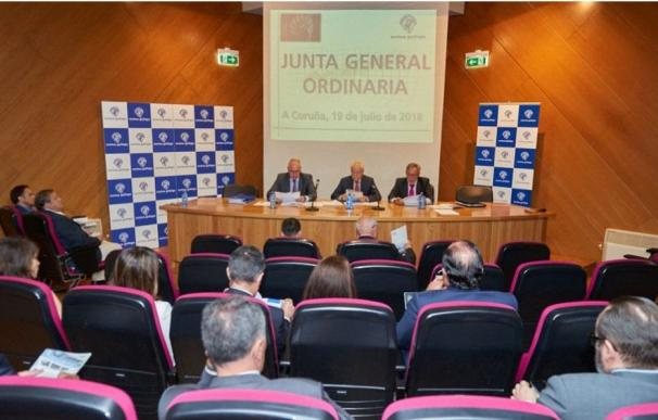 Foto Junta Directiva Mutua Gallega / EP