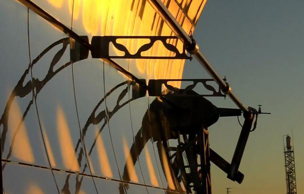 Fotografía planta solar en Almería