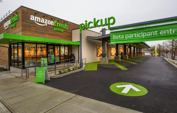 AmazonFresh Pickup se está probando ya en Seattle. / Amazon