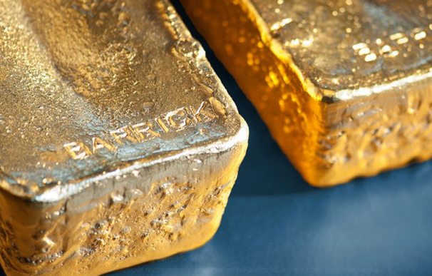 Lingotes de oro de Barrick Gold / Barrick Gold