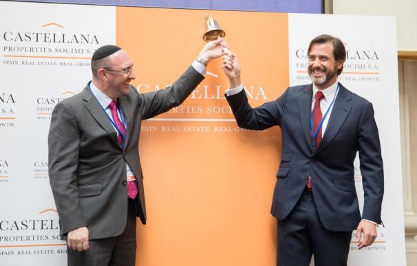 Laurence Rapp, de Vukile, y Alfonso Brunet, de Castellana Properties