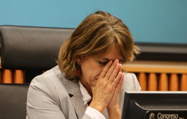 La ministra de Justicia Dolores Delgado presenta un libro en el Congreso
