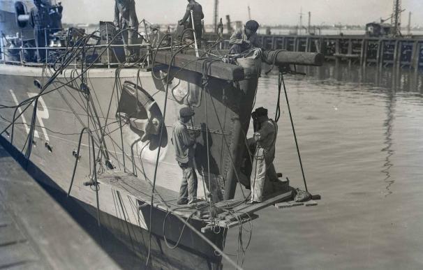 Foto histórica de Navantia