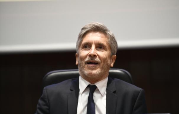 El ministro del Interior, Fernando Grande-Marlaska, preside la entrega de medall