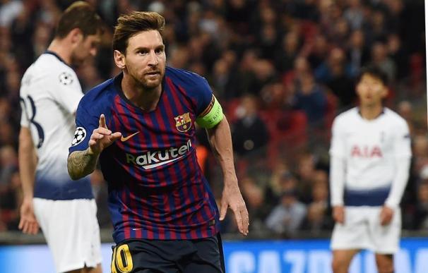 Fotografía Messi celebrando un gol