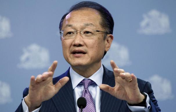 El presidente del Banco Mundial, Jim Yong Kim.
