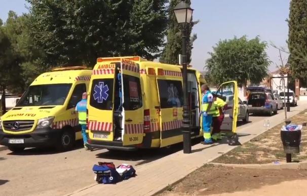 El herido fue trasladado en estado crítico al Hospital de Torrejón de Ardoz, donde finalmente ha fallecido. (Foto: 112 Comunidad de Madrid)