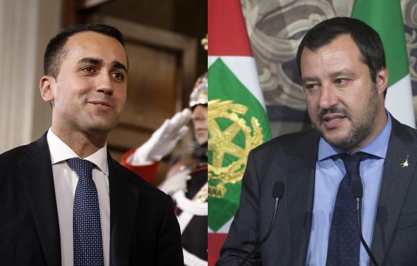 Luigi di Maio y Matteo Salvini llegan a un acuerdo de gobierno en Italia