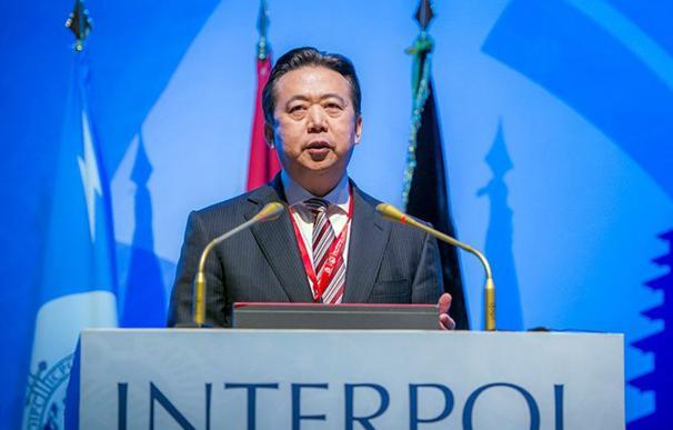 Meng Hongwei, director Interpol