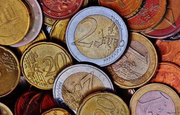 Fotografía de monedas de euro (trucos para ahorrar).
