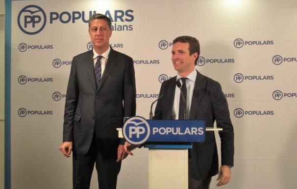 Xavier García Albiol y Pablo Casado (PP)