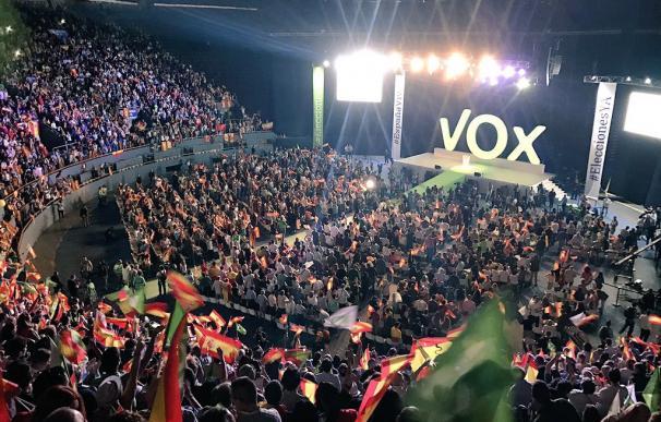 Vox en Vistalegre