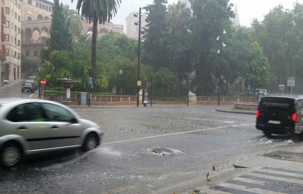 Lluvia en Palma