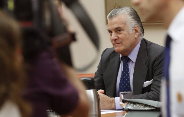 Luis Bárcenas, en el banquillo / EFE