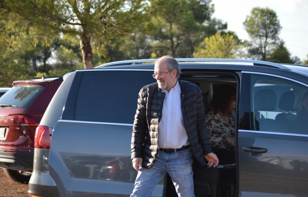 Joan Reñé, este miércoles en Maials (Lleida)
