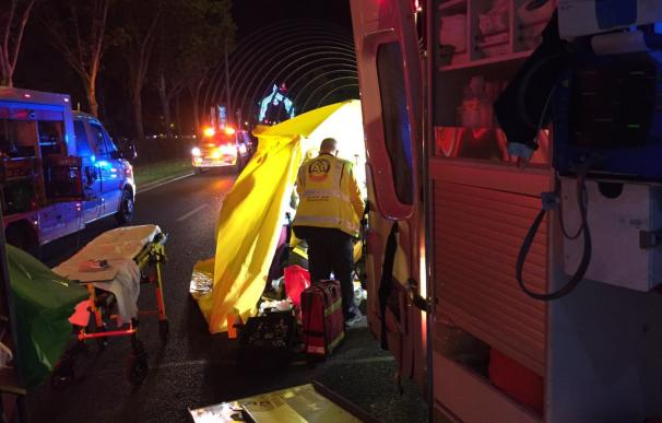 Los miembros de Samur Protección Civil no pudieron revertir la parada cardiorrespiratoria (Emergencias Madrid)